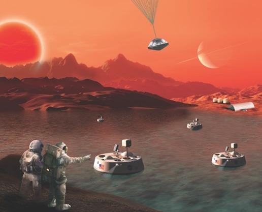 misi ke Titan