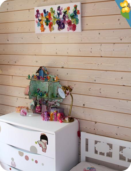 Photographie My Little Pony imprimée sur toile - Prentu.fr