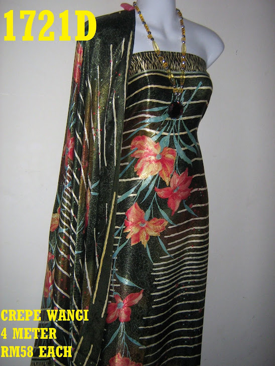 CW 1721D: CREPE WANGI, 4 METER