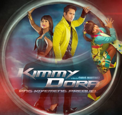 Eugene Domingo and Sam Milby in Kimmy Dora: Ang Kiyemeng Prequel