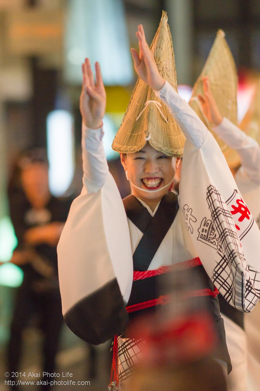 2014年 下北沢阿波踊り 弁慶連