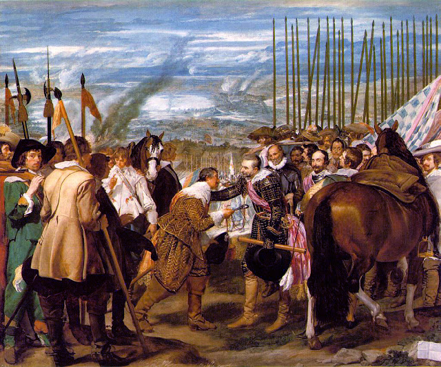 Diego Velazquez, The Surrender of Breda,art history