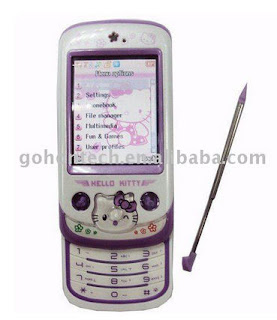 Hello Kitty cellphone