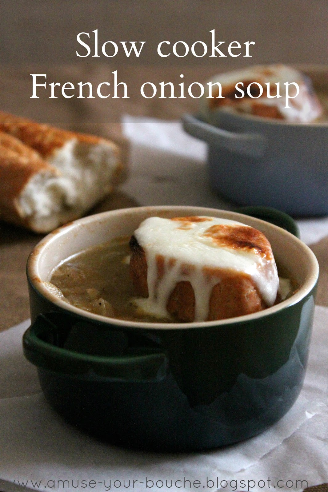 Slow Cooker French Onion Soup Amuse Your Bouche