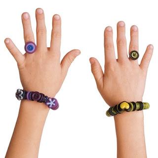 Reciclatex Cómo hacer anillos con botones
