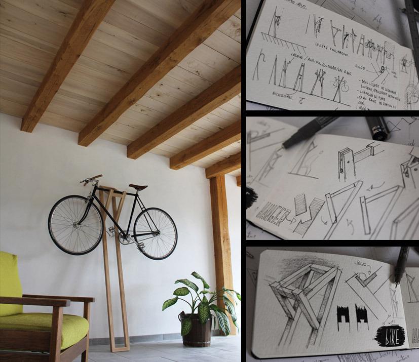 mar vi blog cuelga la bici en casa. Black Bedroom Furniture Sets. Home Design Ideas
