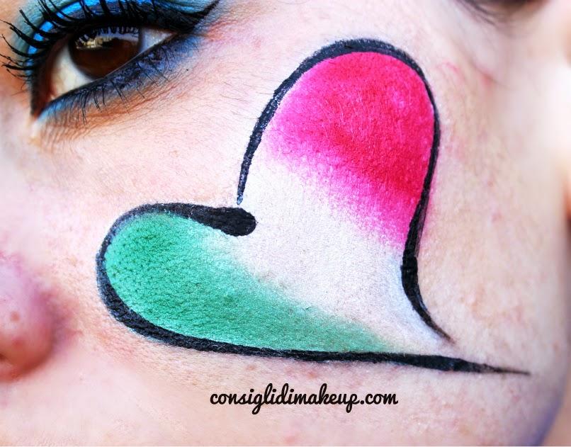 trucco bandiera italia