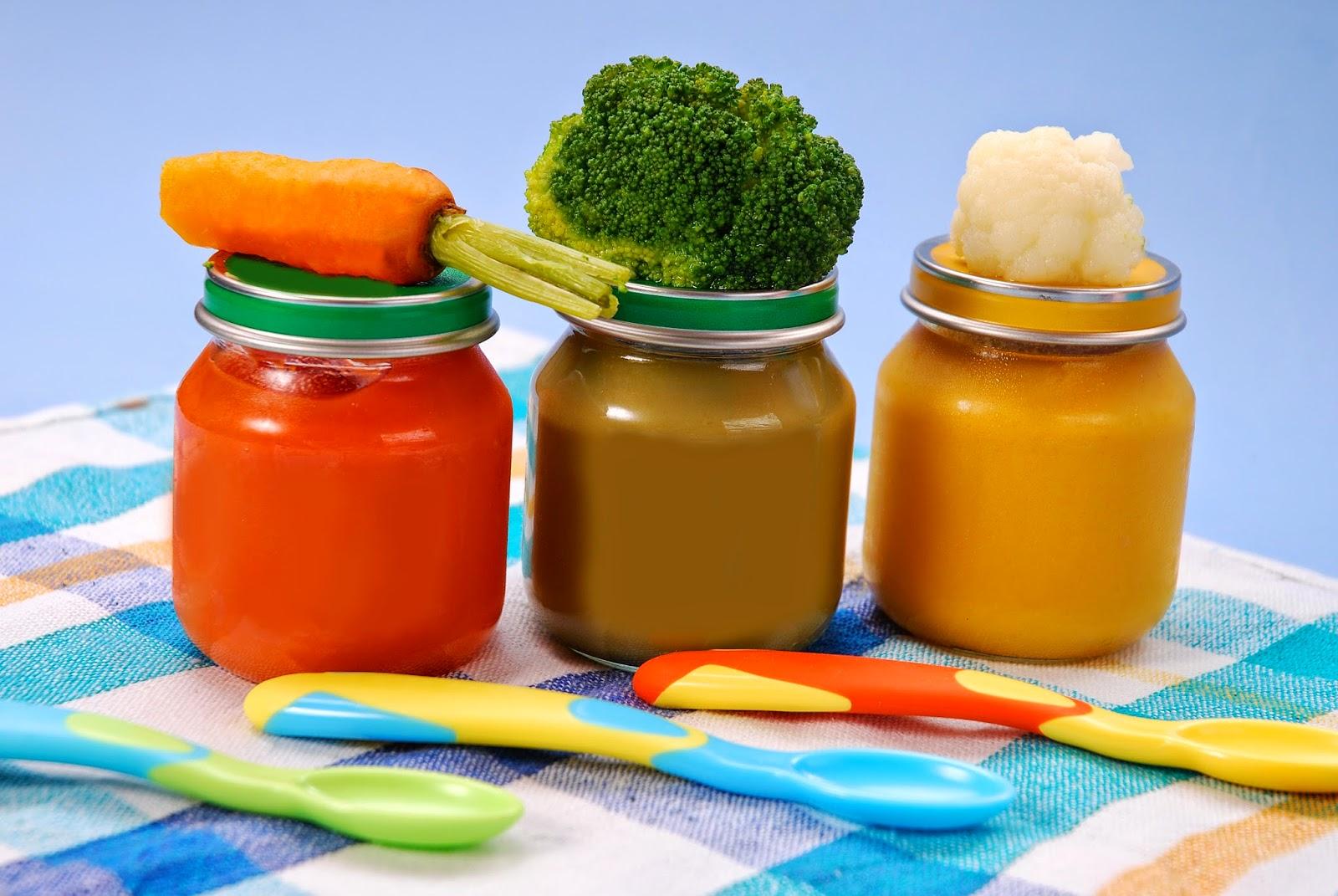 Детское питание своими руками с 6 месяцев на зиму
