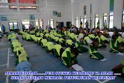 SUASANA SETELAH PENGUMUMAN KELULUSAN SMP NEGERI 1 MUARA BADAK TAHUN AJARAN 2011/2012