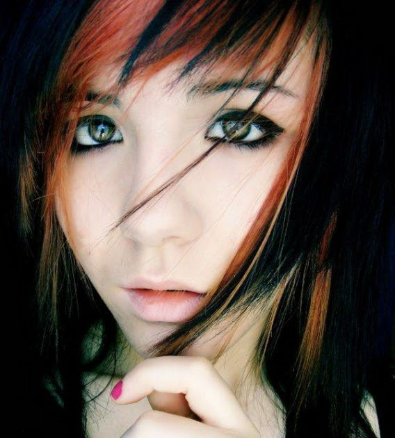 Emo Hairstyles For Women Japanese Emo Hairstyles