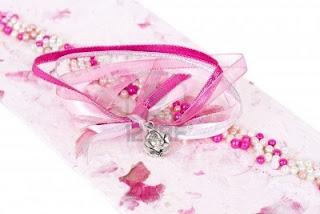 pink wedding cards