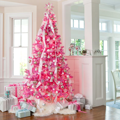 Karin Lidbeck: 8 Day Countdown- A Hot-Pink, Black & White Christmas