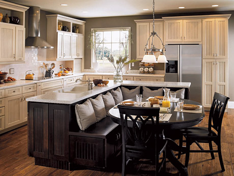 fine furniture kitchen island with dining sets