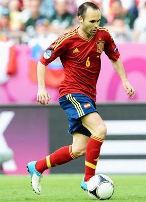 Andrés Iniesta selección española de fútbol