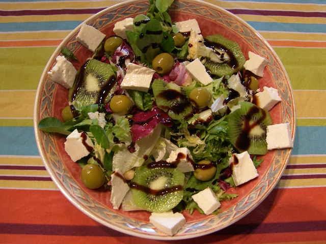how to make fresco de ensalada