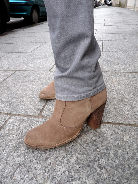 Look Street Style OOTD Fashion Mode H&M Gap Stradivarius André Catherine Parra Kookai Zara