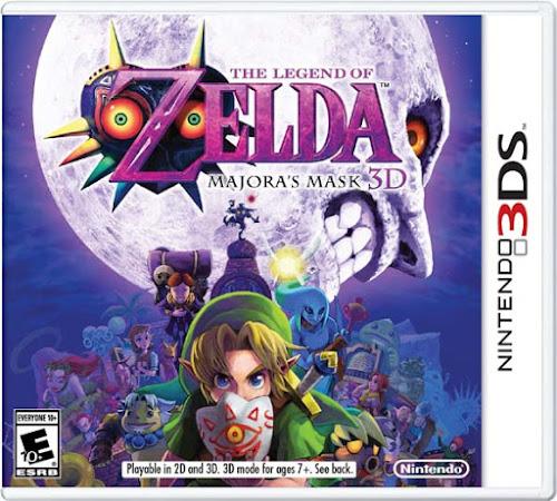 Download The Legend of Zelda: Majora's Mask 3D (3DS CIA)