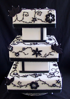 Square Fondant Birthday Cake Ideas