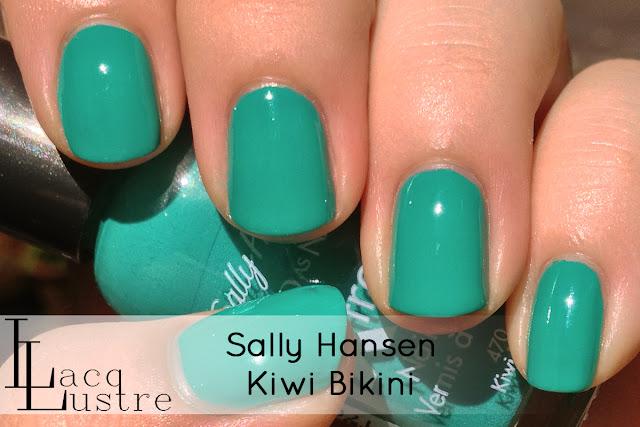 Sally Hansen Kiwi Bikini swatch
