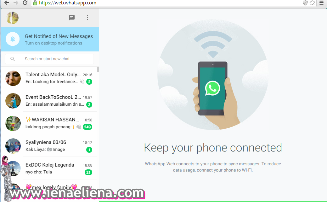 WhatsApp for Desktop or WhatsApps Web