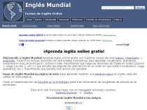 Inglés Mundial cursos de inglés online gratis lecciones de inglés aprender inglés online