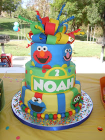 Southern Blue Celebrations Sesame Street Cake Ideas