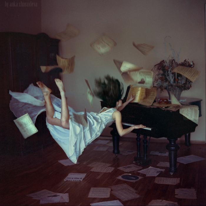 Belas fotos que desafiam a gravidade por Anka Zhuravleva