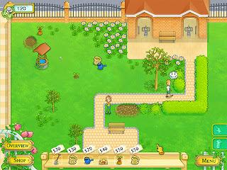 Blooming Daisies - permainan Berkebun
