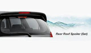 innova new roof spoiler