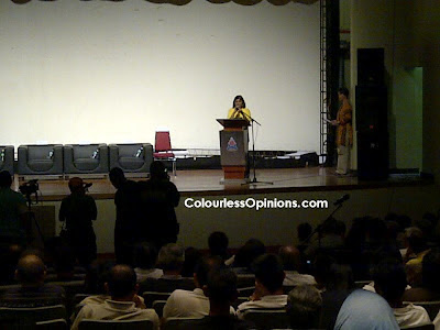 Ambiga at the How Clean Will the 13th General Election Be - Bersih Forum Malaysia