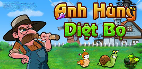 anh dung diet bo game android, game android moi, game anh hung diet bo