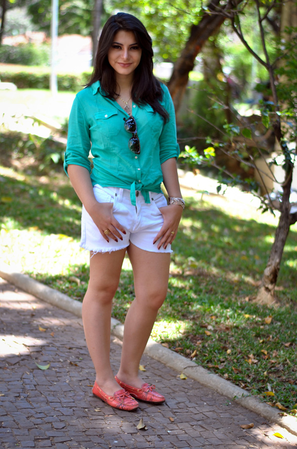 Bárbara Urias - look casual