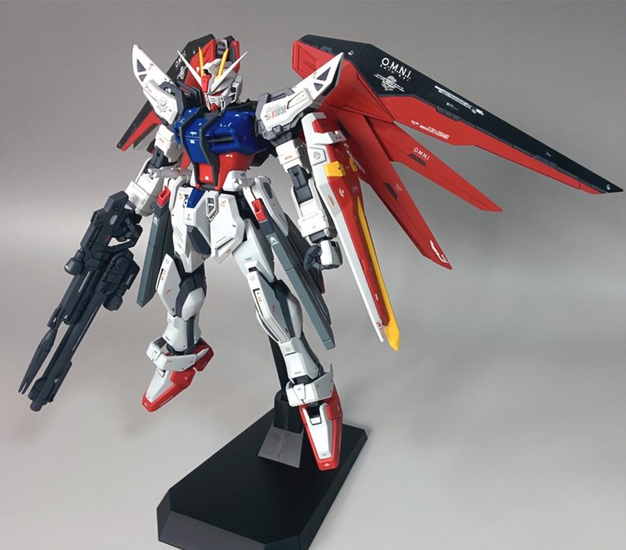 Custom Build: 1/100 Freedom-Strike Gundam - Gundam Kits ...