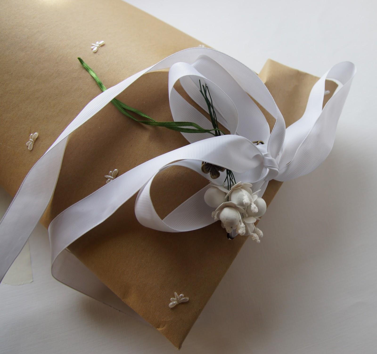 Упаковка handmade-подарка