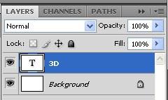 Cara Membuat Teks 3 Dimensi di Photoshop / Basics
