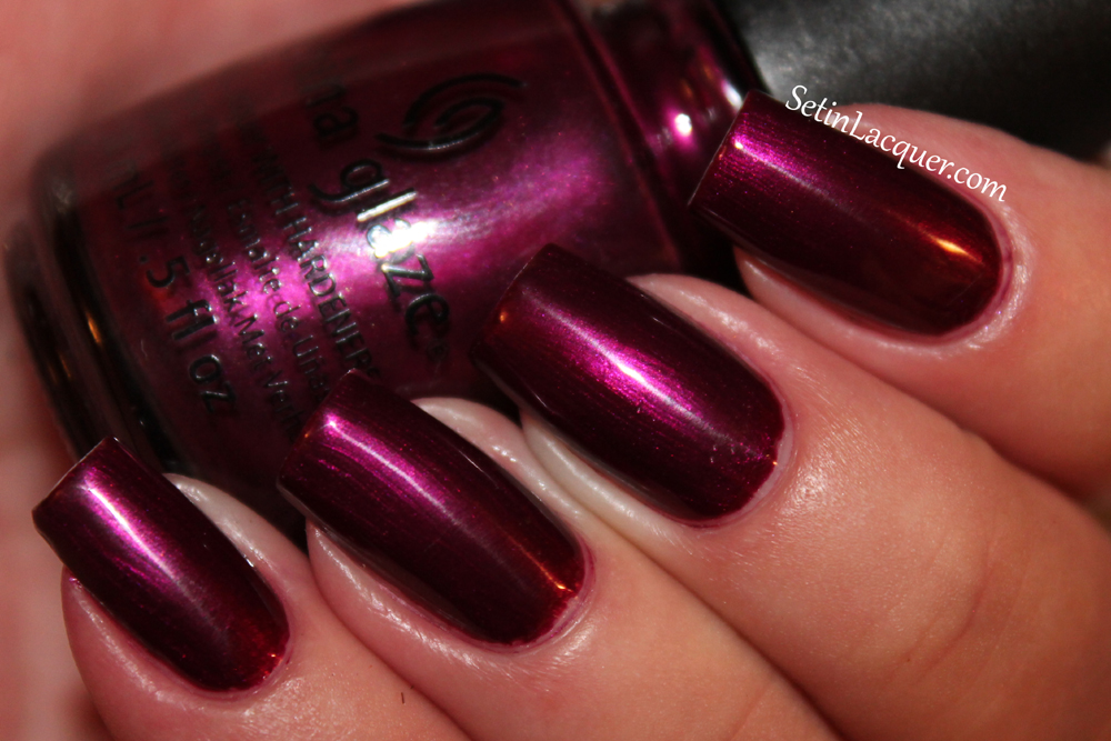 China Glaze - Don't Make Me Wine