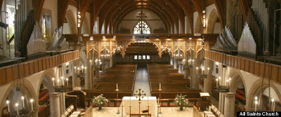 All Saints Episcopal Church in Pasadena, CA