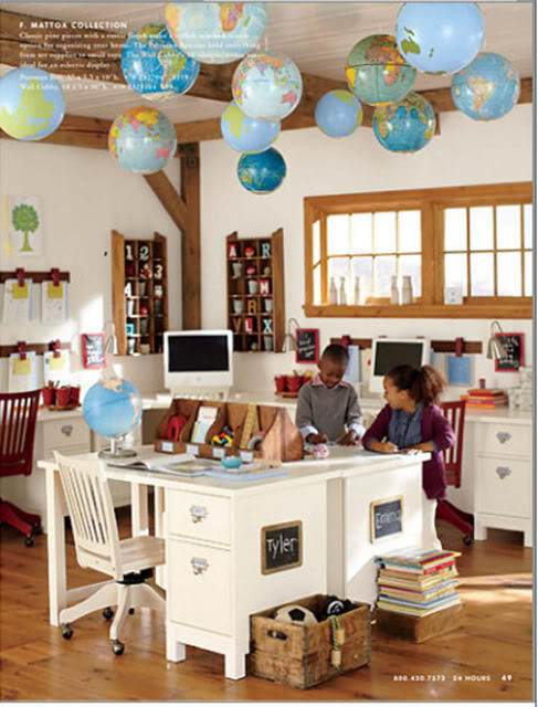 Homeschool Classroom Decor ~ A wise woman builds her home homeschool room ideas for