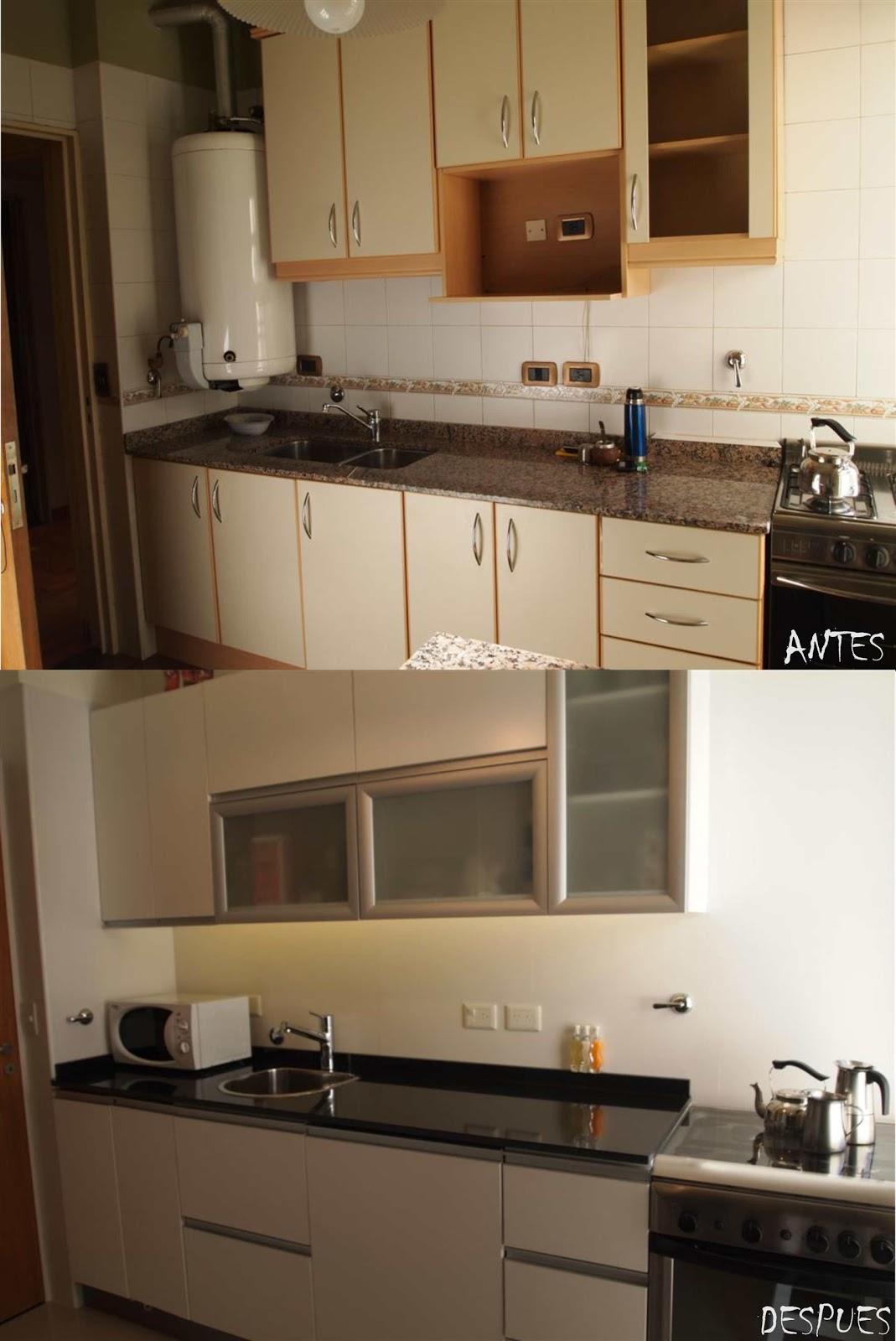 Arquitectura a tu medida remodelacion de una cocina for Remodelacion de cocinas pequenas