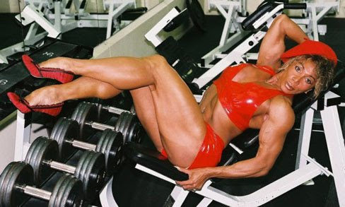 Latia Del Riviero Female Muscle Bodybuilder Blog