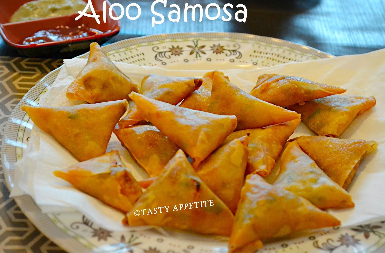 Samosa recipe how to make potato samosa aloo samosa for Quick snacks to make with potatoes