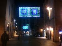 Encesa de llums de Nadal. Girona. 2013.