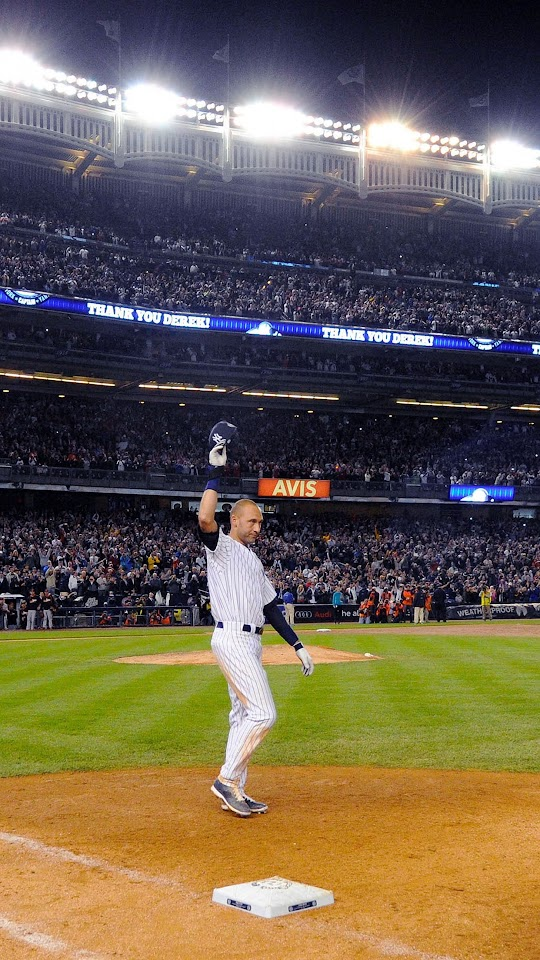 Derek Jeter Walk Off Single New York Yankees  Galaxy Note HD Wallpaper