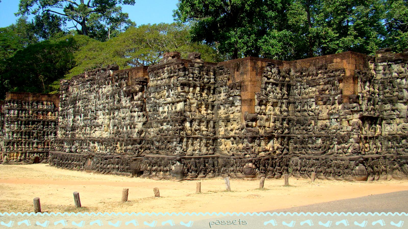 Terraza del Rey Leproso - Angkor
