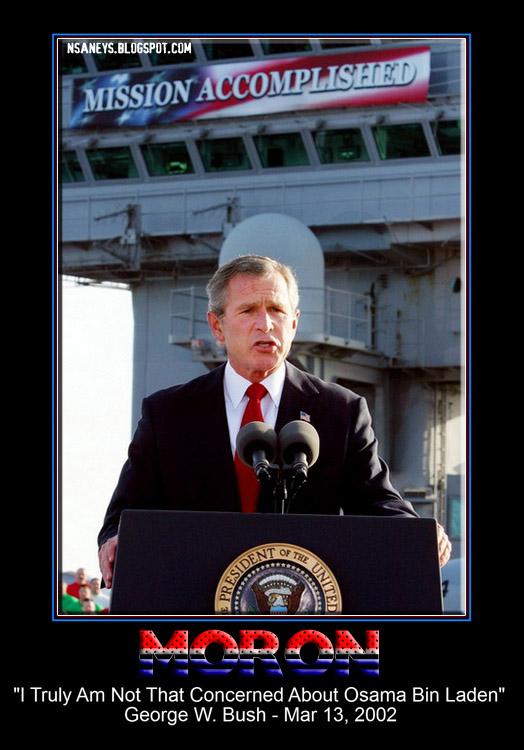 Political Memes George W Bush An American Moron