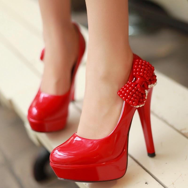 Zapatos Rojos, Tacón Alto, Toda Ocasión
