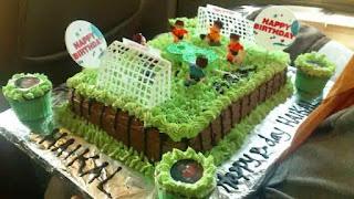 Kue Ulang Tahun Anak Laki-Laki Tema Bola