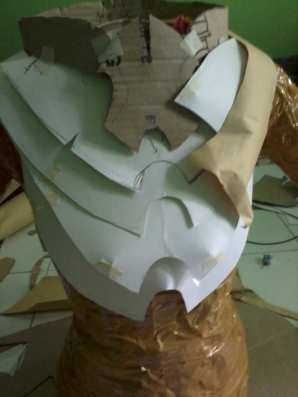 Proses atau Tutorial ga Lengkap Membuat Armor Berserker