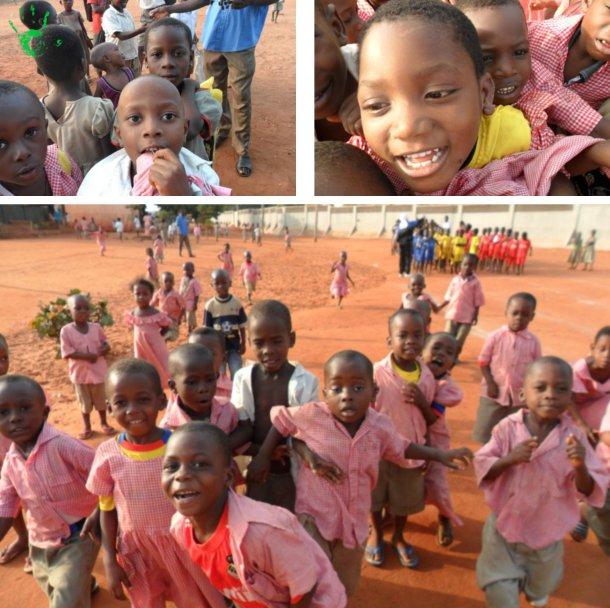 I bambini della scuola materna di Noepé, Togo, Africa