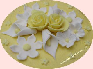 Lemon curd tårta